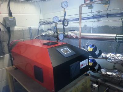 red hydrogen boiler